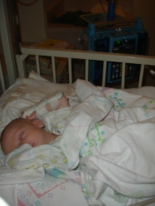 Cooper in Hospital